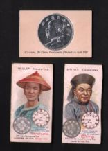 CHINA old cigarette insert tobacco cards #923